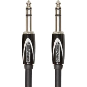 """Roland RCC-10-TRTR 1/4"""" TRS to 1/4"""" TRS Balanced Interconnect Cable - 10ft"""