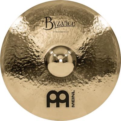 "Meinl 22"" Byzance Brilliant Heavy Hammered Crash Cymbal"