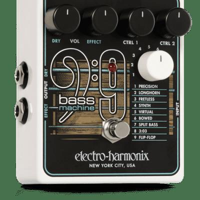 NEW! Electro-Harmonix Bass9 - Polyphonic Bass Emulator FREE SHIPPING!