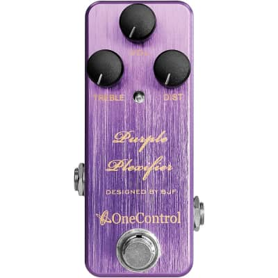 One Control Purple Plexifier Distortion Effects Pedal Regular