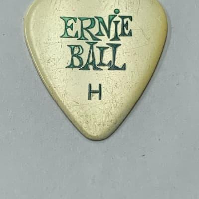Ernie Ball Guitar Pick  1970's White Vintage