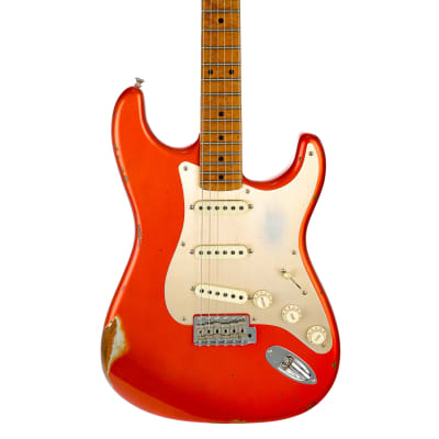 Fender Custom Shop Ltd '56 Stratocaster RST Relic Electric Guitar  - Candy Tangerine for sale