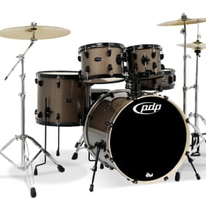 PDP PDMA22Z8BZ Mainstage Series Complete 5pc Kit w/ Zildjan 360 Cymbal Pack