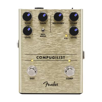 NEW Fender Compugilist Compressor/Distortion