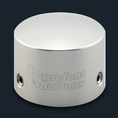 NEW BAREFOOT BUTTONS V1 - TALL BOY - SILVER