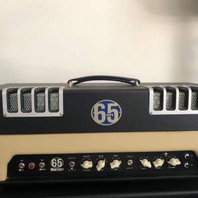 65 Amps Monterey Black/ Cream Amplifier Head