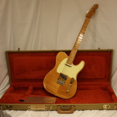Fender Custom Shop 40th Anniversary Telecaster #143 of 300 1989 Tinted Natural for sale