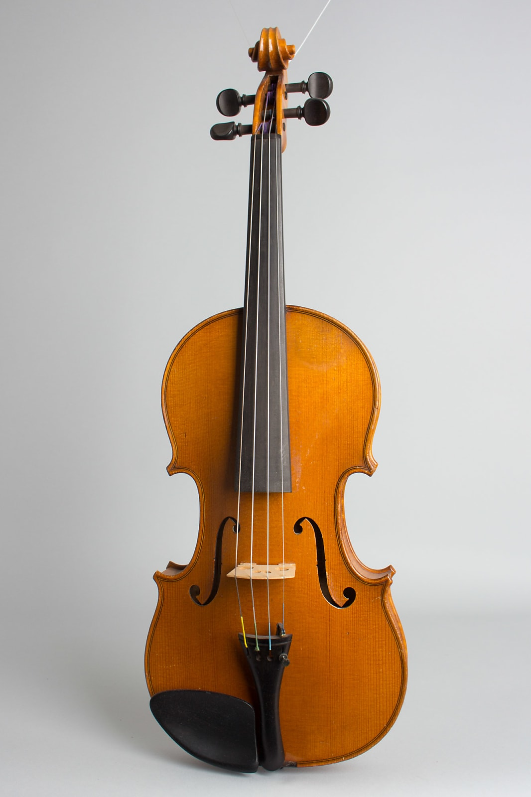 H. Emile Blondelet Violin 1928 Light Amber Varnish