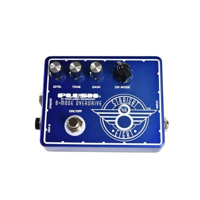 Plush by Fuchs Amps Straight 8 Overdrive Guitar Effects Pedal for sale