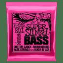 Ernie Ball 2834 SUPER SLINKY NICKEL WOUND ELECTRIC BASS STRINGS - 45-100 GAUGE