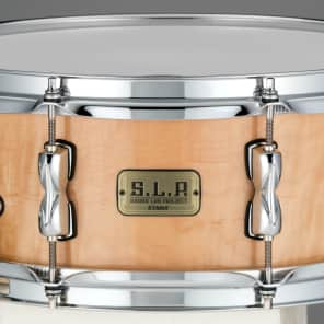 "Tama LMPM1455FNFM 5.5x14"" S.L.P. Series Vintage Poplar Maple Snare Drum"