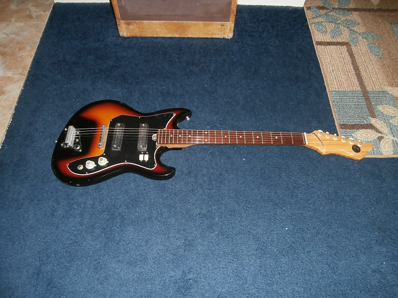 Electric vintage guitar kay Identifying and