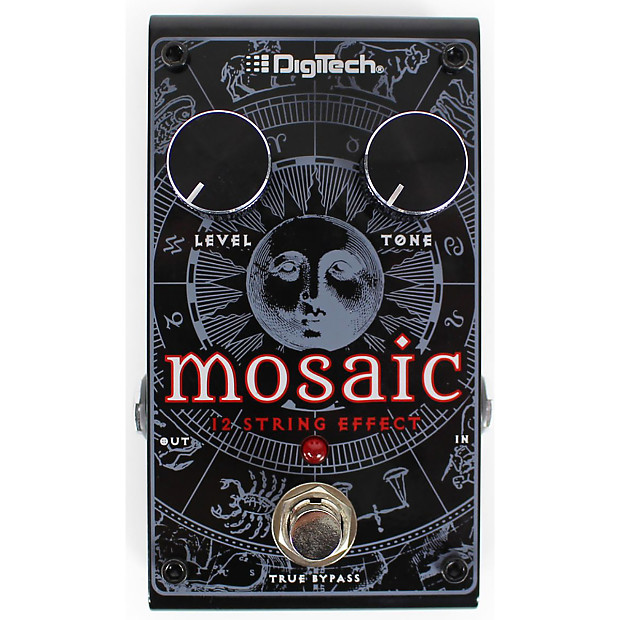 new digitech mosaic polyphonic 12 string guitar effects pedal reverb. Black Bedroom Furniture Sets. Home Design Ideas