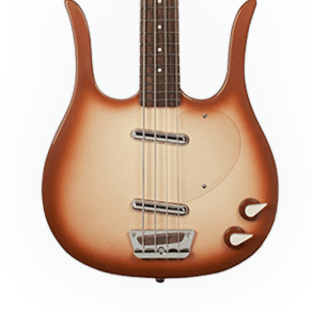 Danelectro Longhorn Bass Copperburst New, Free Shipping, DLHBASS-CPR image