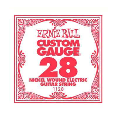 Ernie Ball Nickel Wound Single String 028
