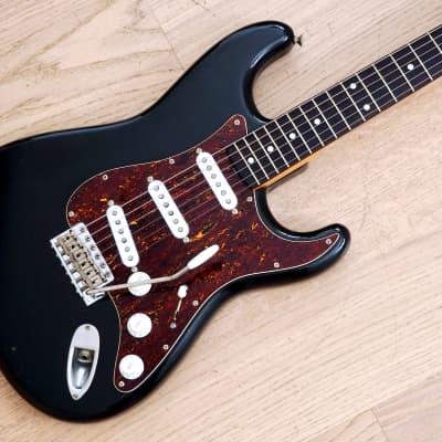 1984 Fender Stratocaster '62 Vintage Reissue Black w/ Custom Shop Fat 50s, Japan MIJ