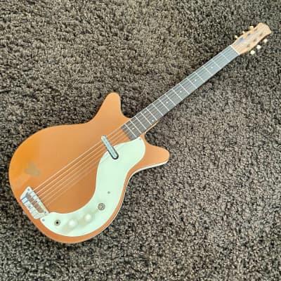 Danelectro 3612 Shorthorn Bass VI / Baritone 1962 Copper for sale