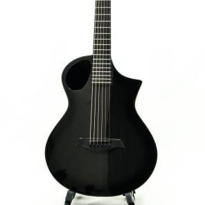 Composite Acoustics The Cargo HG CBB ELE Travel-Size Acoustic-Electric Guitar Carbon Burst