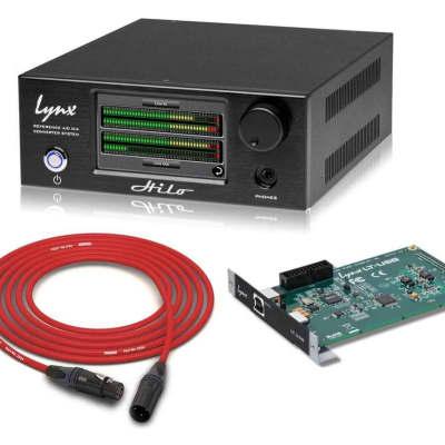 Lynx Hilo USB | Reference AD/DA Converter & Monitor Controller in Black | PALA