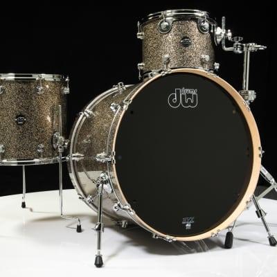 DW Performance 3pc Drum Kit Gold Nebula 12/16/24