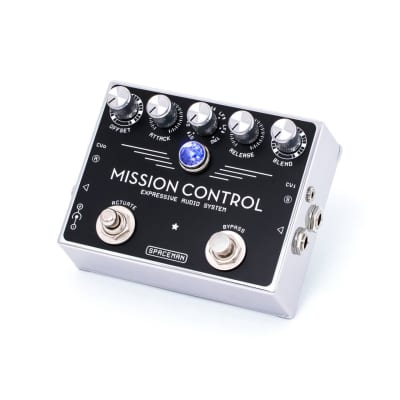 Spaceman Mission Control Expressive Audio System Pedal - White