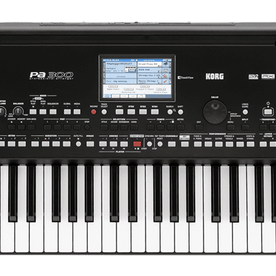 Korg Pa300 61-Key Arranger Workstation