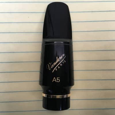 Vandoren V16 A5M Hard Rubber Alto Saxophone Mouthpiece - SKU:1092