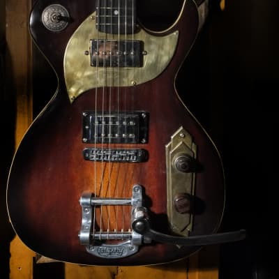 Postal Delta Zephyr Hand Made  Guitar Antique Burst Rio Grande &  Pearly Gates Pups for sale