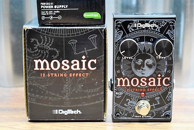 digitech mosaic 12 string polyphonic guitar effect pedal reverb. Black Bedroom Furniture Sets. Home Design Ideas