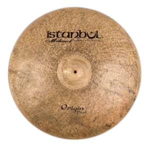 "Istanbul Mehmet 21"" Origin Dark Ride Cymbal w/ Rivets"