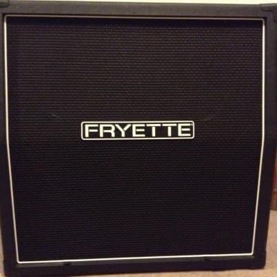Fryette (Formerly VHT) Model: 412S-P50E Front Loaded FatBottom Slanted Cab 4x12 Black for sale