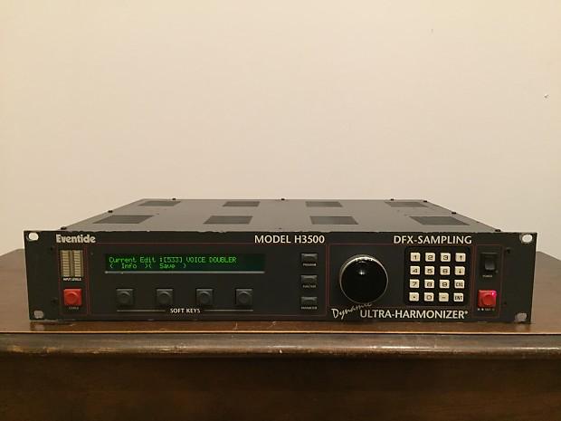 Eventide h3000 h3500 harmonizer instruction manual + service.