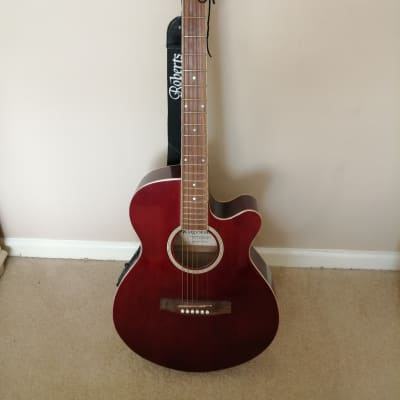 Ridgewood  Electro Acoustic   Browny Red for sale