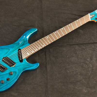 Ormsby SX Carved Top GTR7 (Run 10) Multiscale - Maya Blue Candy Gloss for sale