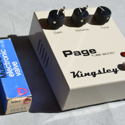 Kingsley Page V2 Tube Boost Mullard NOS equipped for sale