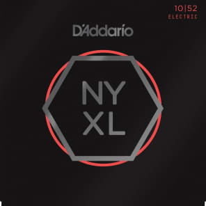 D'Addario NYXL1052 Nickel Wound Electric Guitar Strings, Light Top / Heavy Bottom Gauge