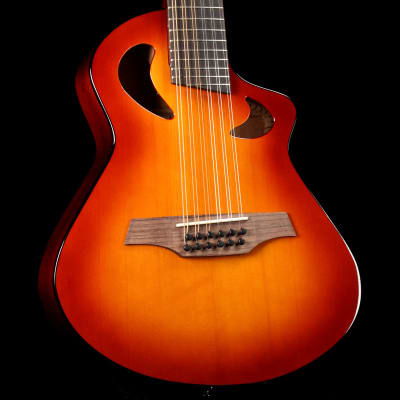 Avante Veillette Gryphon Short Scale 12 String Sunburst for sale