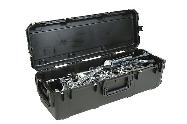 skb large drum hardware case with handle wheels reverb. Black Bedroom Furniture Sets. Home Design Ideas