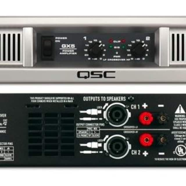 QSC GX5 Power Amplifier image