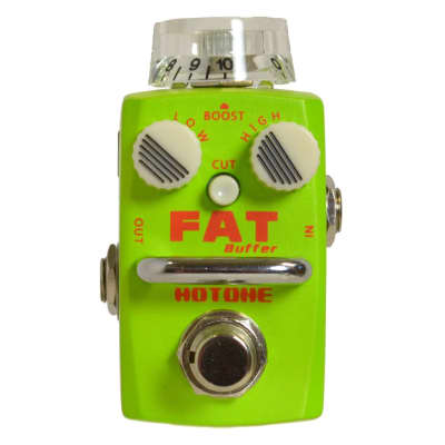 Hotone Fat Buffer/Preamp Pedal with 26 dB Boost for sale