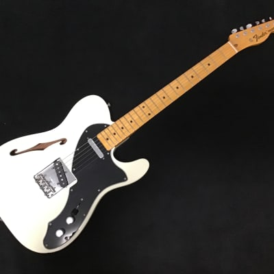 Fender Vintage American '69 Reissue Thinline Tele Telecaster 2011 Olympic White for sale