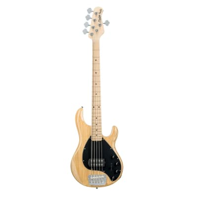 Sterling by Music Man RAY35-NT 5-String Electric Bass Guitar Natural