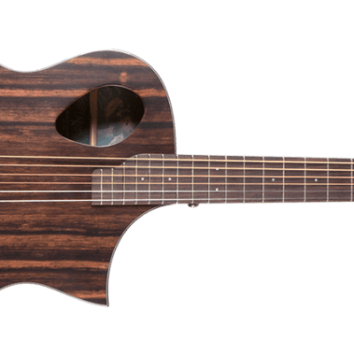 Michael Kelly Forte Port Exotic acoustic electric guitar NEW - Java Ebony - Bstock for sale