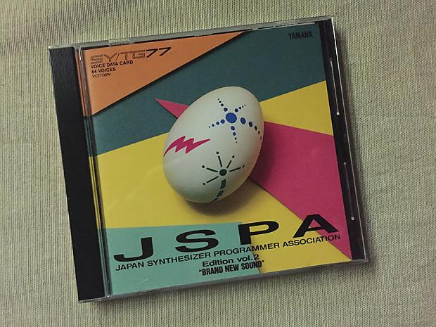 RARE! JSPA Yamaha SY77/TG77 Voice and Data Card