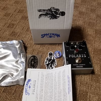 Spaceman Polaris Resonant Overdrive 2019 Silver and red edition