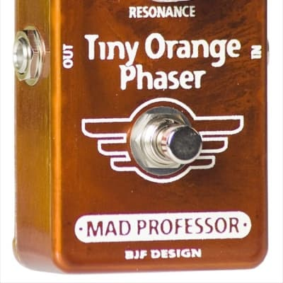Mad Professor Tiny Orange Phaser Hand Wired BJF for sale