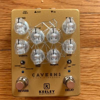 Keeley Caverns Delay Reverb V2 2020 Gold