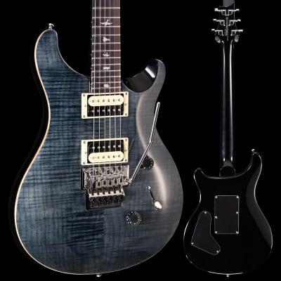 PRS Paul Reed Smith SE Custom 24 Floyd, Grey Black 647 8lbs 6.6oz for sale