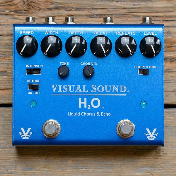 visual sound v3 h2o chorus echo mint reverb. Black Bedroom Furniture Sets. Home Design Ideas