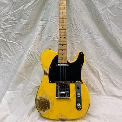 Orion Harvester Vintage Yellow - Heavy Relic for sale